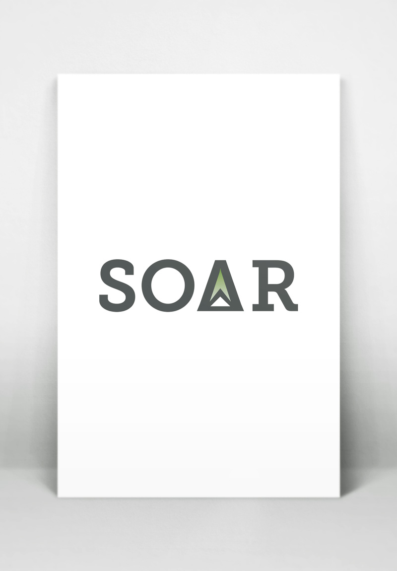 Soar Logo, by Kathy Jimenez, Graphic Designer